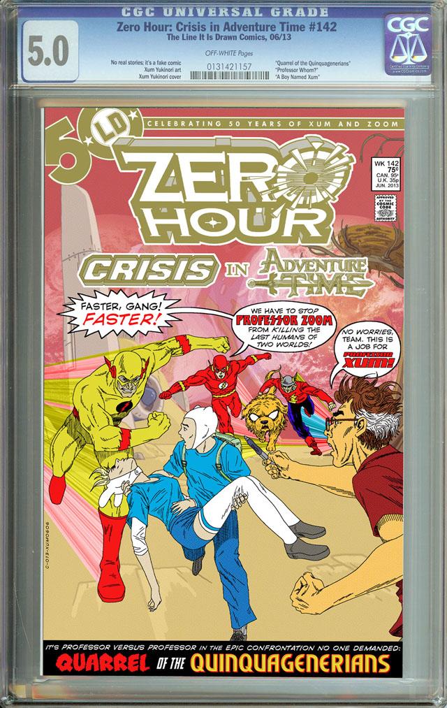 Finn, Fionna, Flash and Flash-Crisis On Four Earths by Xum Yukinori