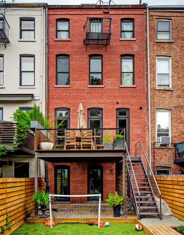 Mike D's Brooklyn Townhouse
