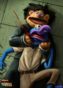 No Country For Old Muppets by Dan LuVisi