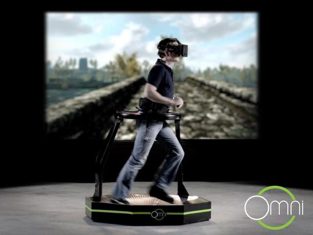omni a multidirectional treadmill for immersive virtual reality gaming. Black Bedroom Furniture Sets. Home Design Ideas
