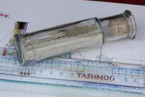 1915 Message in a Bottle Discovered near Detroit