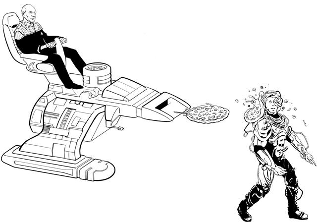 Captain Picard's Mean Pizza-Launchin' Machine