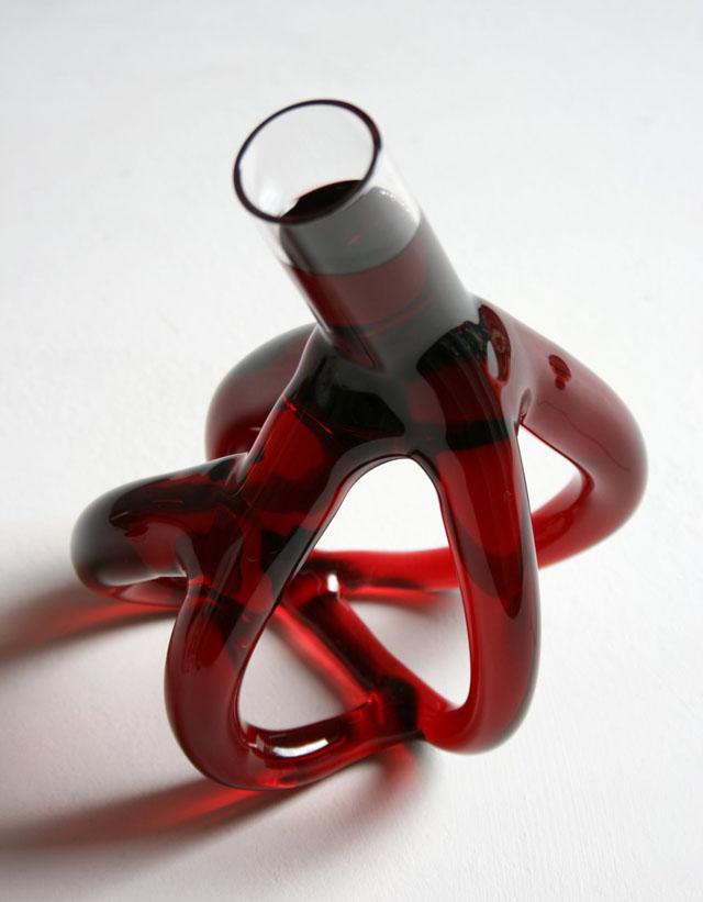 Wine decanters by Etienne Meneau