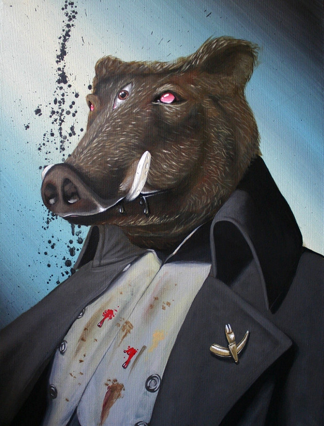 Some Animals are More Equal Than Others by Robert Bowen (Napoleon from Animal Farm)