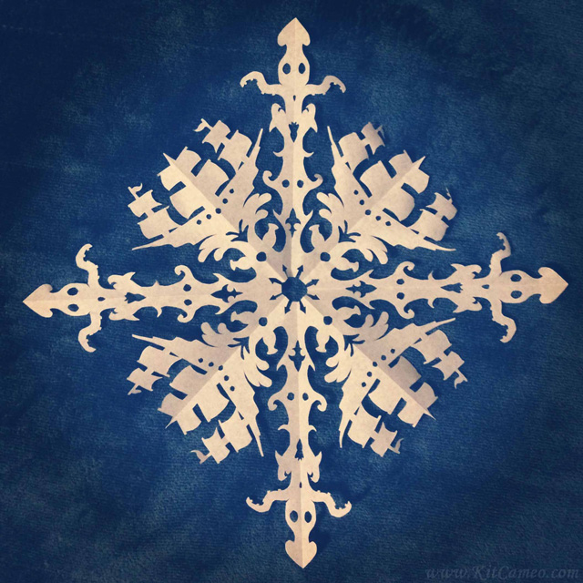 cool paper snowflakes