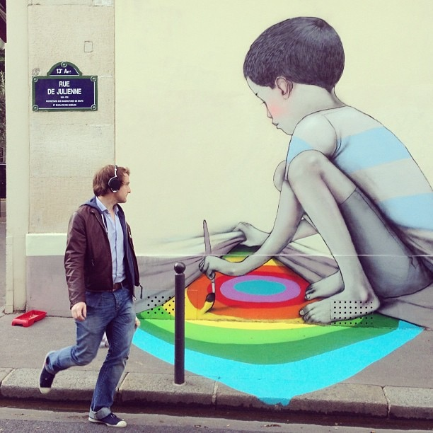 street art seth paris