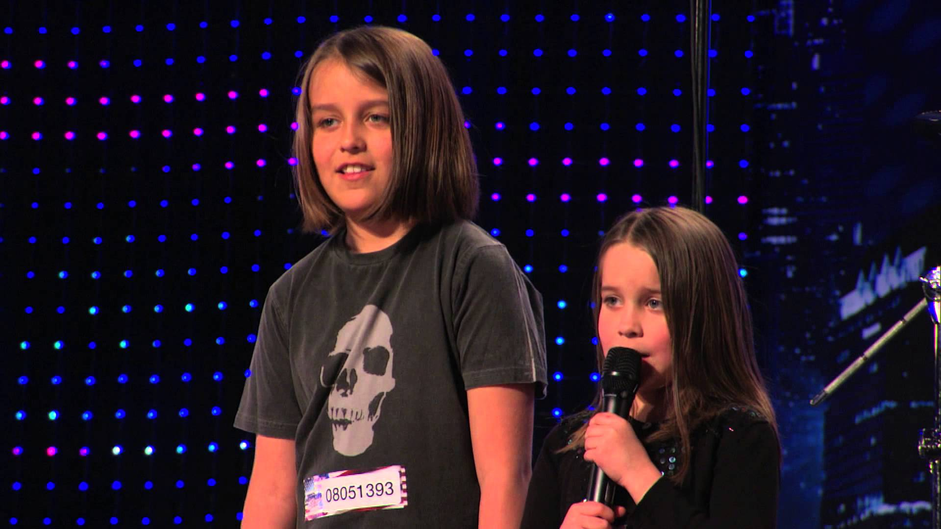 Sweet Little Girl Sings Death Metal Song Called 'Zombie Skin' on America's Got Talent