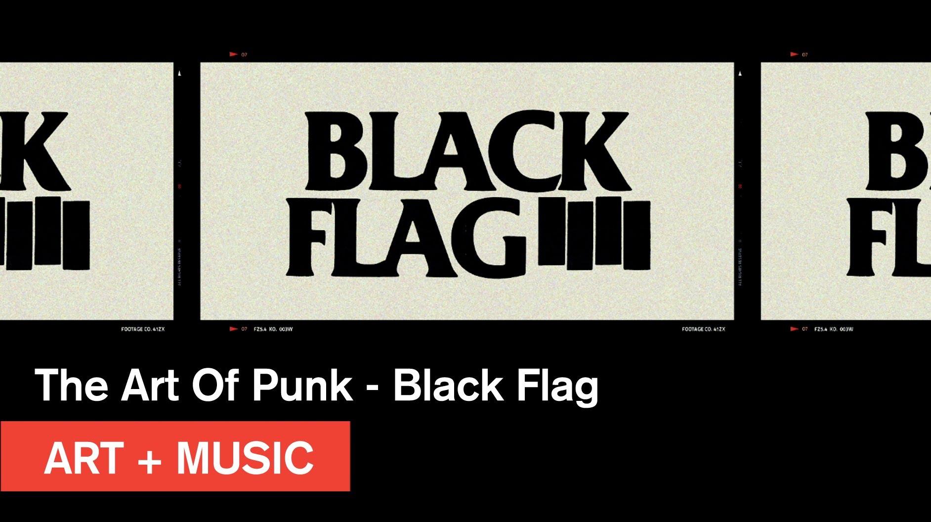 The Art of Punk, Documentary Short Looks at the Art of Hardcore Punk Band Black Flag