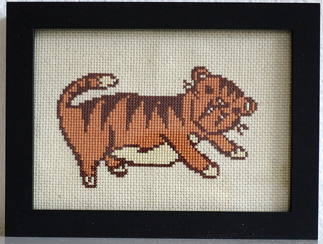 Saber Tooth Tiger by Susie Ghahremani and Irene Stone