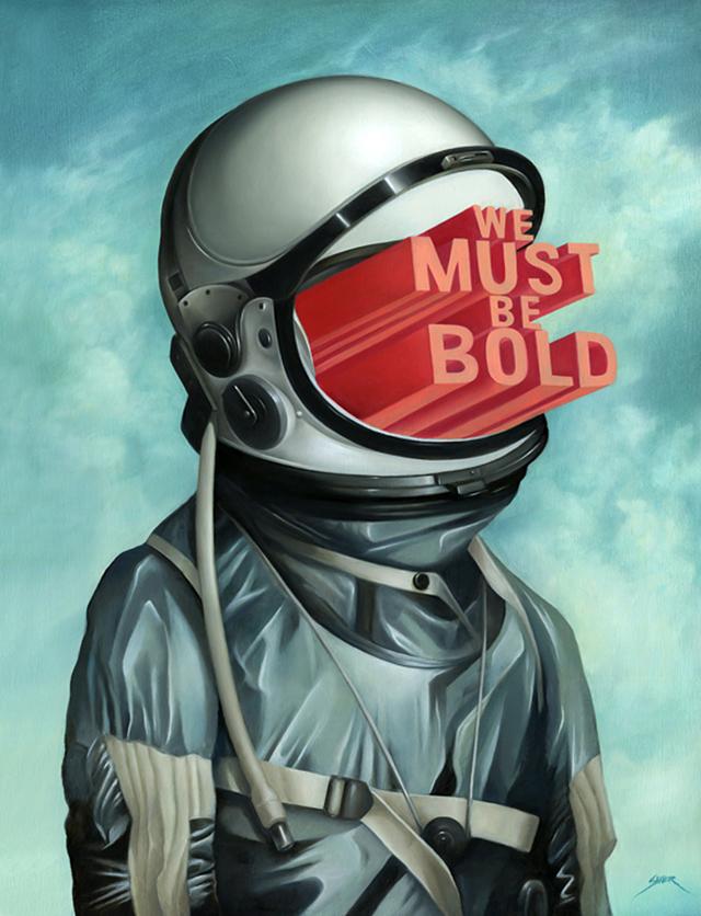 We Must Be Bold by Bennett Slater