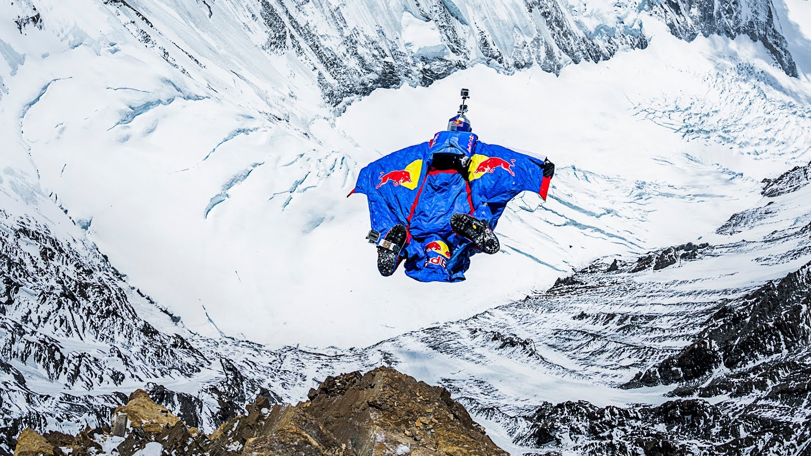 Valery Rozov Jumps Off Mount Everest in Highest BASE Jump Ever
