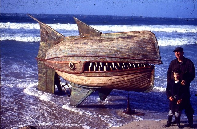 Wooden Whaler by David Kemp