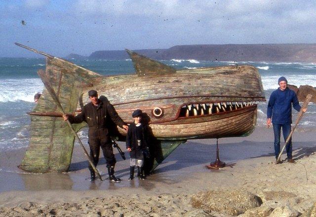 Wooden Whaler by David Kemp
