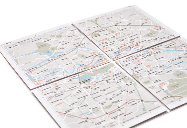 map2 zoomable paper street map