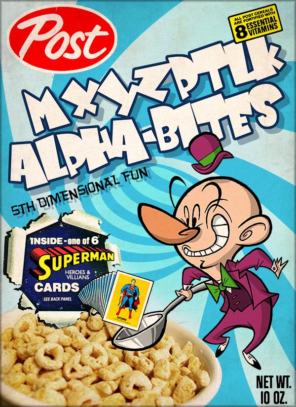 Mr. Mxyzptlk Cereal