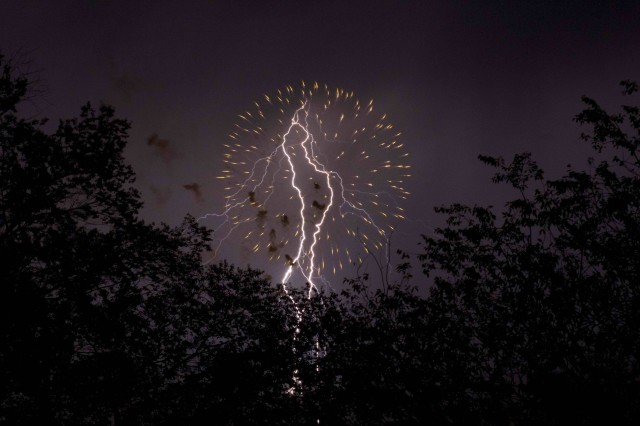 Lightning and Fireworks