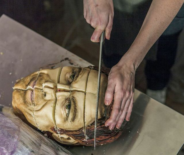 Life-Sized Hyper-Realistic 'Dexter' Cake Looks Just Like Dexter Morgan