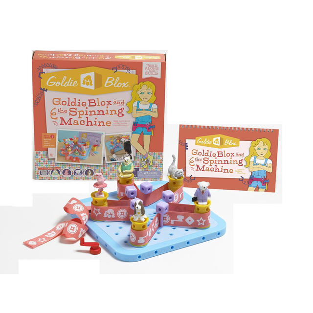 Construction Toys For Girls : Goldieblox construction toys for girls go on sale at r us