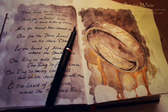 Lord of the Rings Watercolor