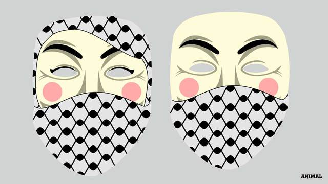 Iconic Guy Fawkes Mask Redesigned For Both Sexes With Symbols Of