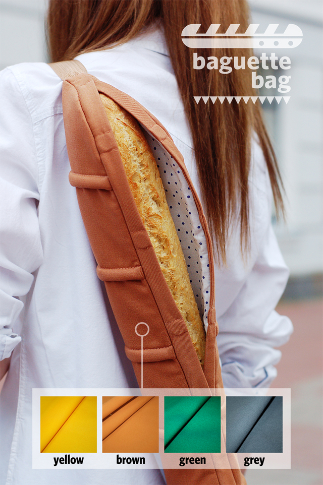 A Baguette Shaped Shoulder Bag To Carry Amp Protect Your