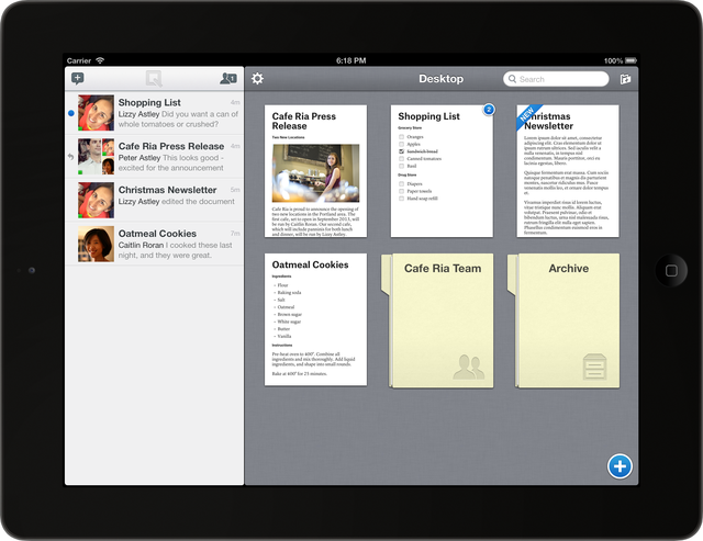 Quip, A Cross-Platform Word Processor For Desktop, iOS, and Android