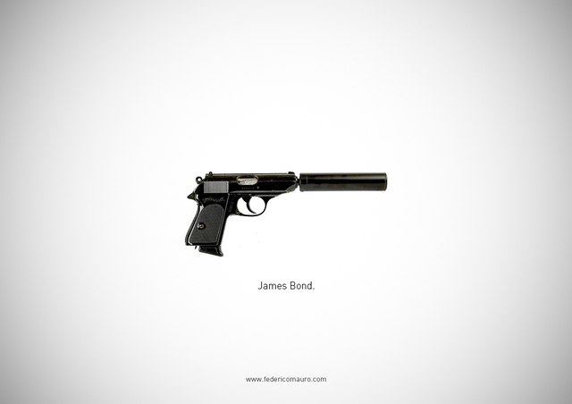 Famous Guns, The Iconic Firearms of Fictional Characters