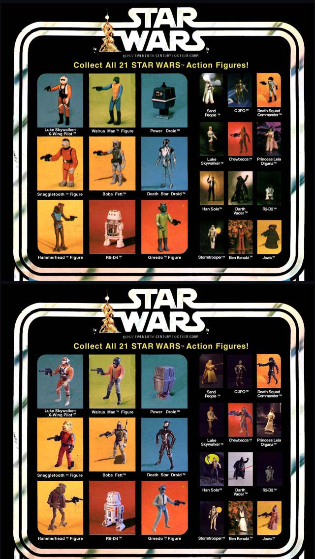 Vintage Kenner 'Star Wars' Action Figure Cards Recreated With ...