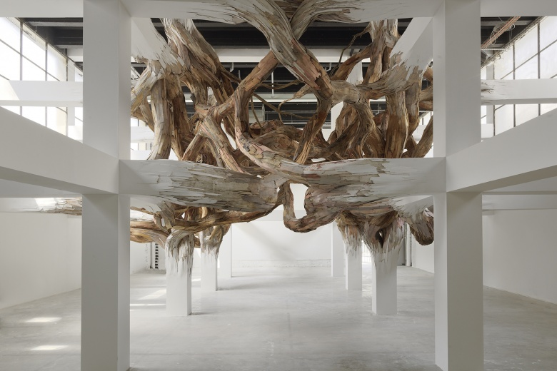 Baitogogo, Tangled Branch Installation at the Palais de Tokyo in Paris