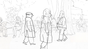New York City: An Animated Sketchbook by Willy Hartland