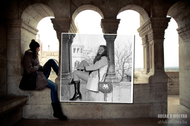 Window to the Past by Kerenyi Zoltan