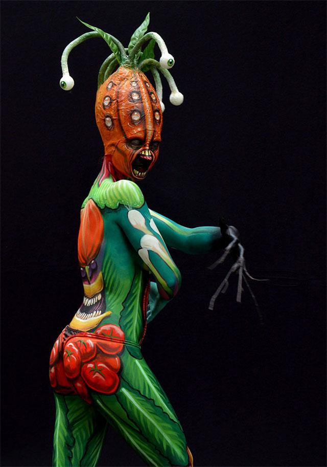A different art form - Australian Body Art Festival