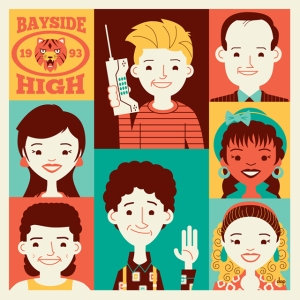 Bayside High (Saved by the Bell) by Dave Perillo
