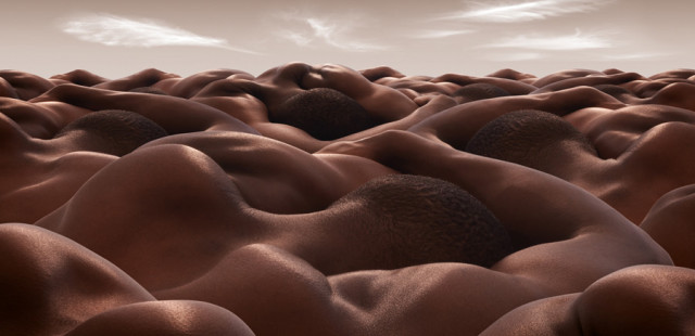 Bodyscapes by Carl Warner