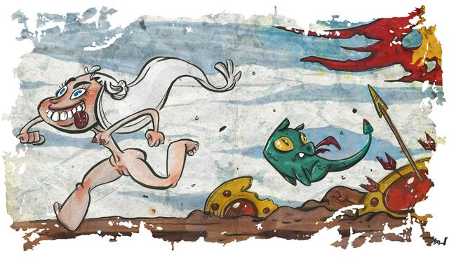 Dragons Haste by Fabian Corona