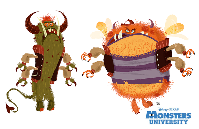 Monsters University Art by Chris Sasaki