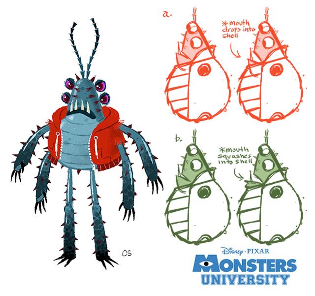 Monsters University Art by Chris Sasaki