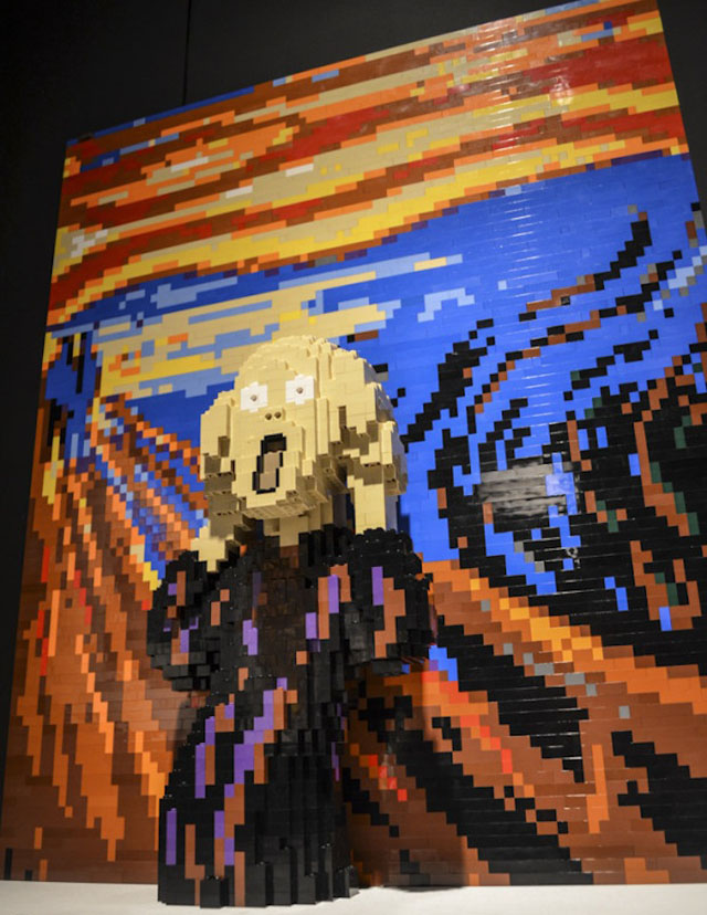 Photos of 'Art of the Brick,' Nathan Sawaya's Solo Show of LEGO Art in New York City