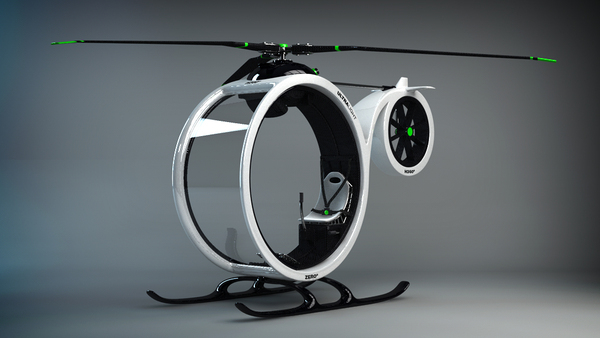 ZEROº, An Ultralight Helicopter Concept Design