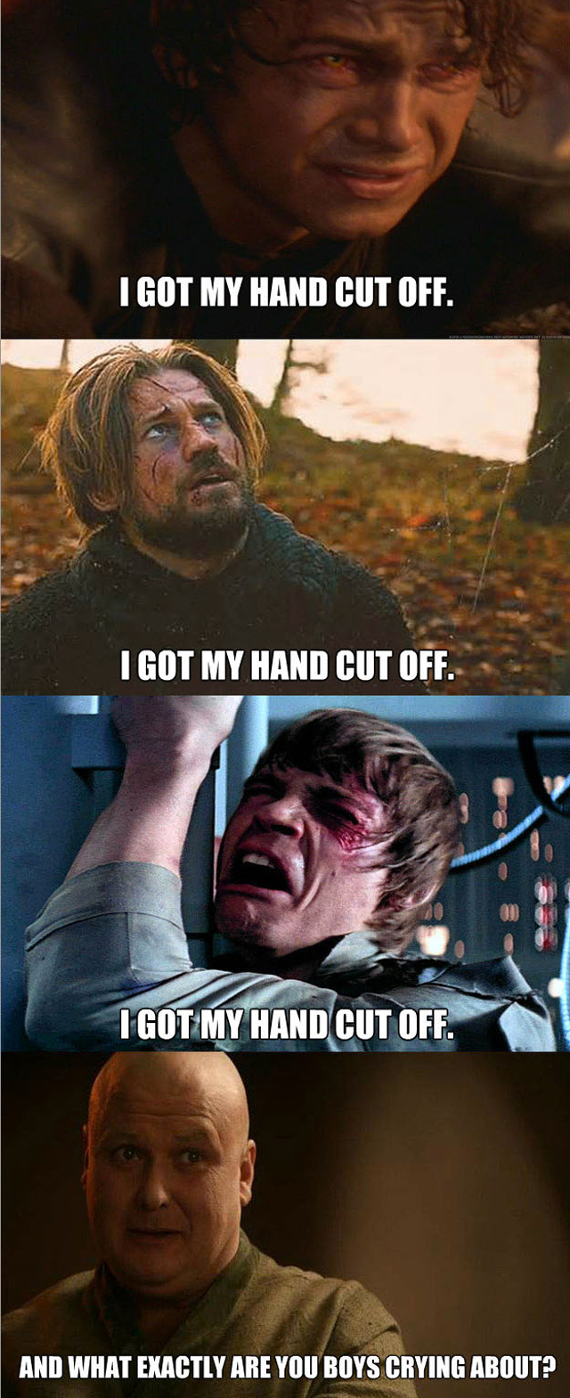 Star Wars vs Game of Thrones