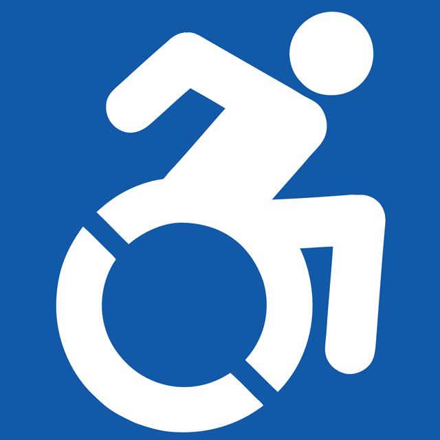 The Accessible Icon, A More Active Version of the Wheelchair Symbol