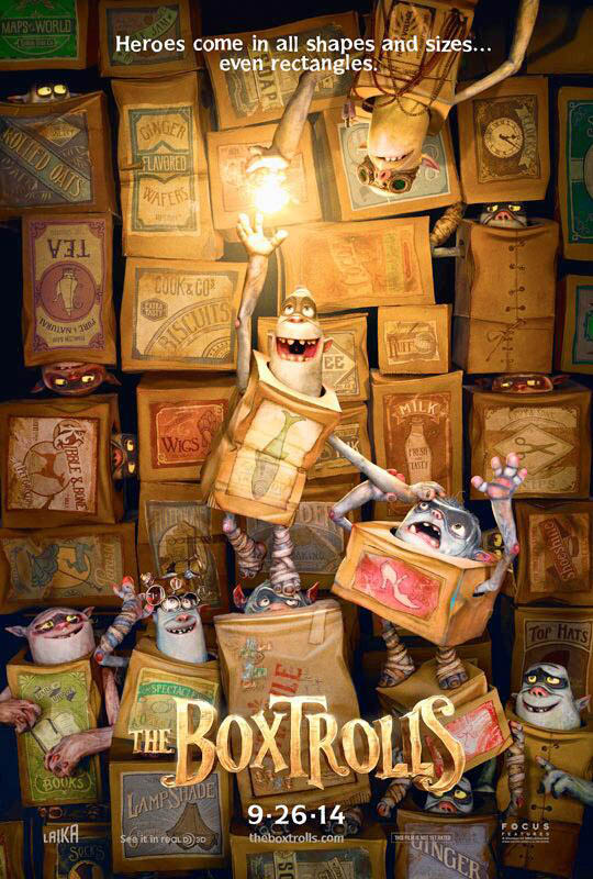 The BoxTrolls, Upcoming Animated Feature Film by the Makers of 'Coraline' and 'ParaNorman'