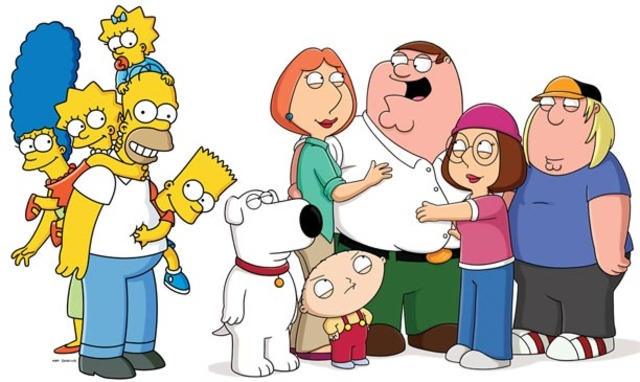 Family Guy Simpsons
