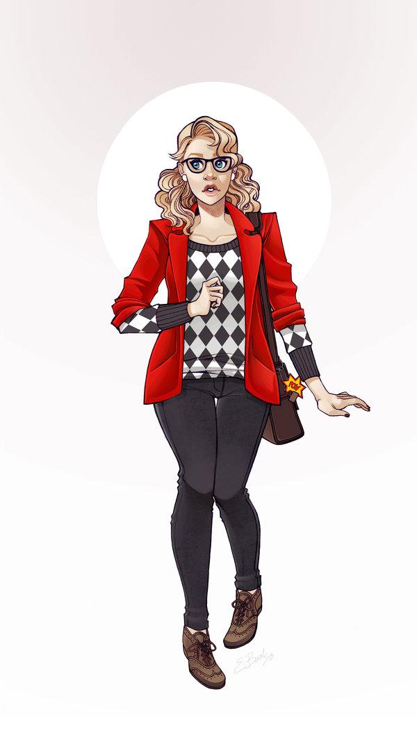 Harley Quinn by Elizabeth Beals