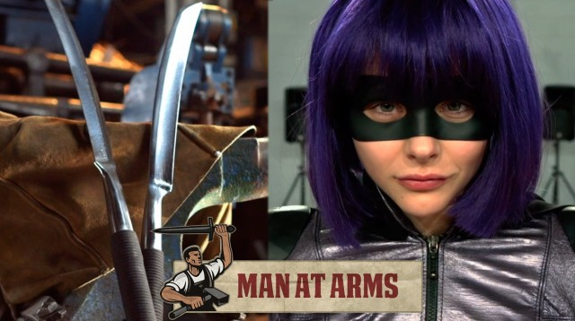 How to Make Hit Girl's Detachable Sword From 'Kick-Ass 2'