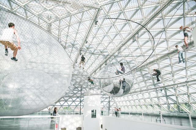 In Orbit by Tomas Saraceno