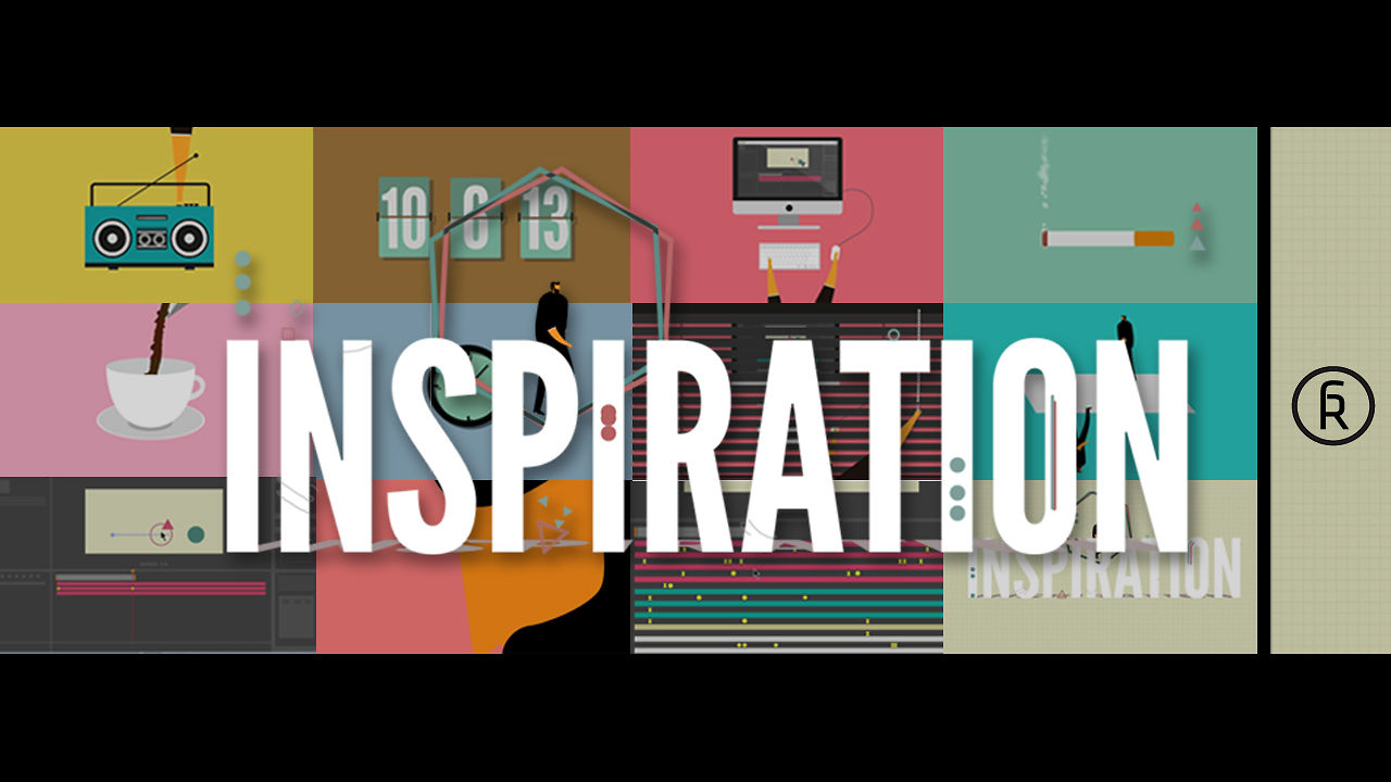 Inspiration: Inspiration, Clever Animation About The Creative Process