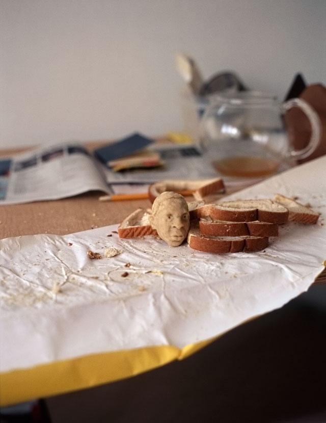 Wonder bread sculptures by Milena Korolczuk