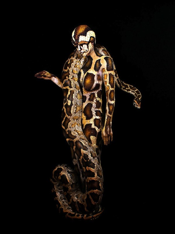 Johannes Stotter body painting