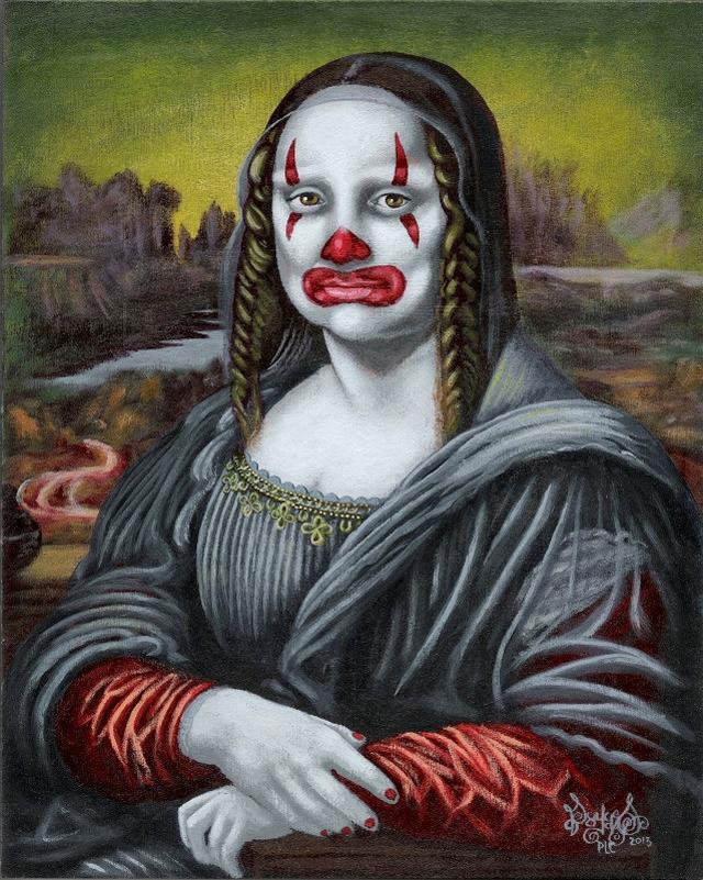 Mona Pagliaccio by Payazo / Pascal Leo Cormier
